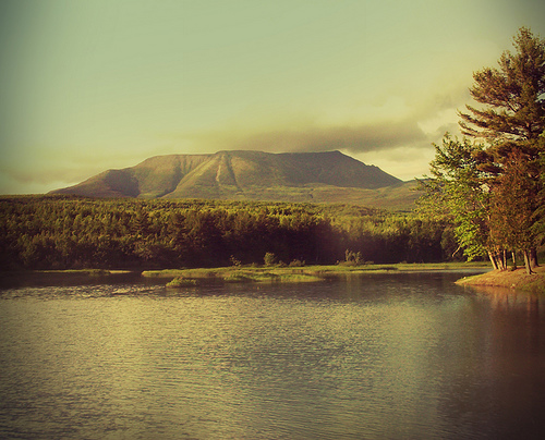 Mount Katahdin - Northern terminus of the Appalachian Trail