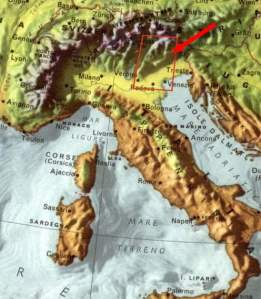 map-of-Dolomites