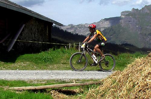 cyclist-Jungfrau
