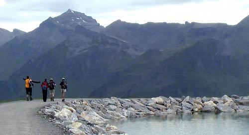 hikers-Jungfrau