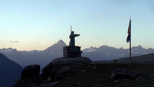 St-Bernard-statue