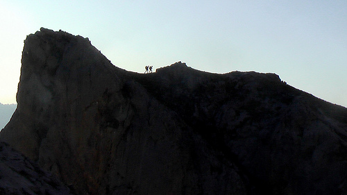 hikers-silouette
