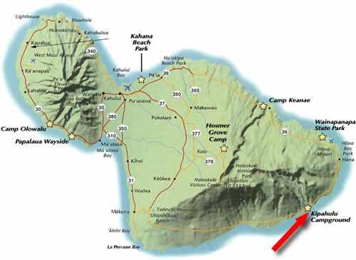 Waimoku Falls Pipiwai Trail map