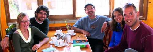 besthikers - Cafe Andino, Huaraz - Alpamayo Circuit 2004
