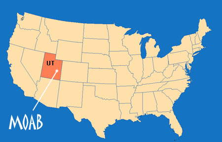 Moab map | besthike.com