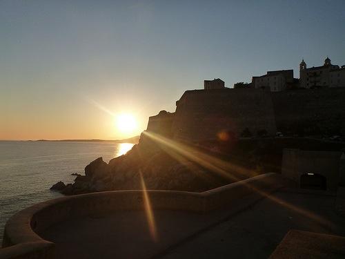 Sunrise Calvi