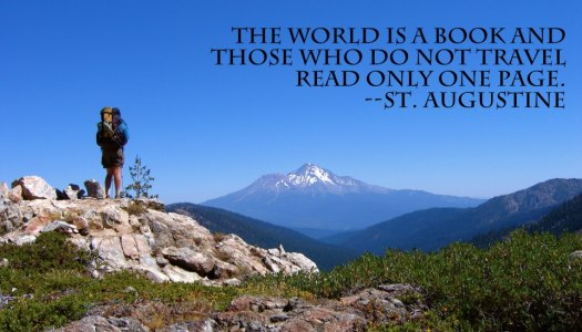 world is a book