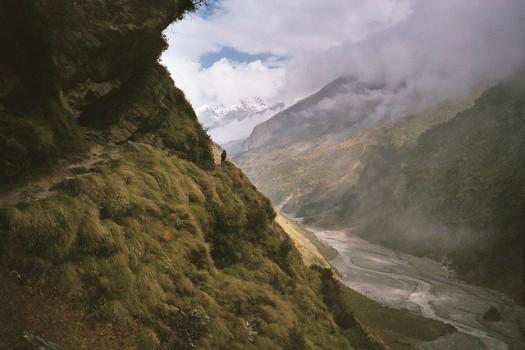 Dave Sinclair - Johar Valley, Kumaon, India - on the way to Nanda Devi