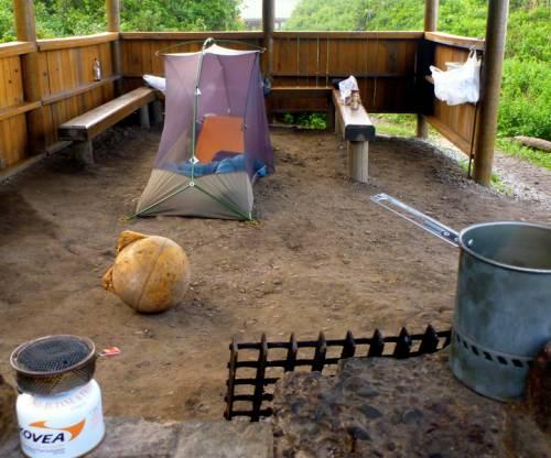tent night 1