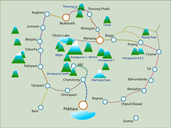 annapurna-circuit-map