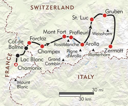 Chamonix-Zermatt: The Walker's Haute Route (Mountain Walking) Kev Reynolds