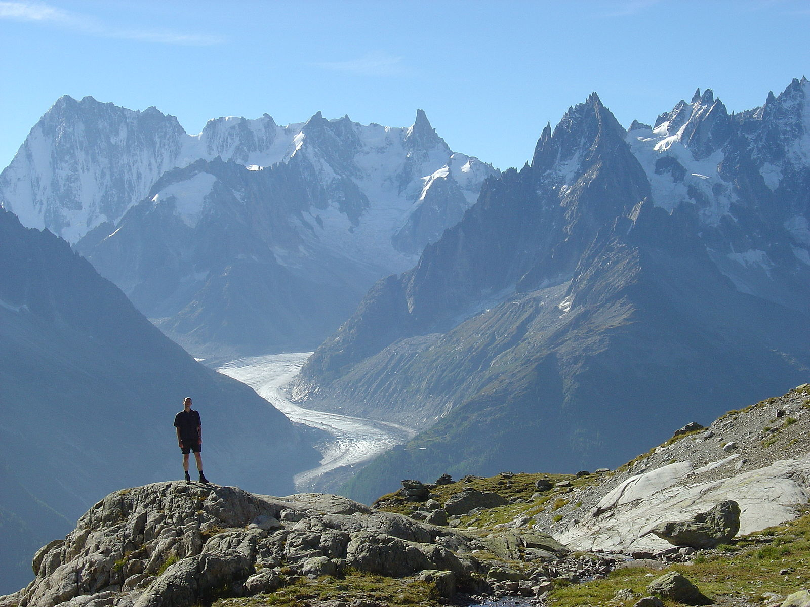 Tour of mont blanc for Carrelage mont blanc sallanches