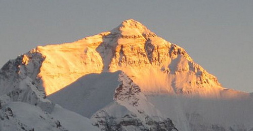 sunset Everest