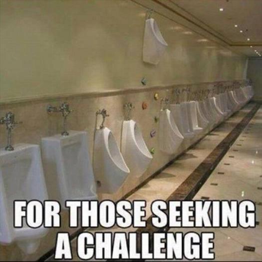 climbers urinal