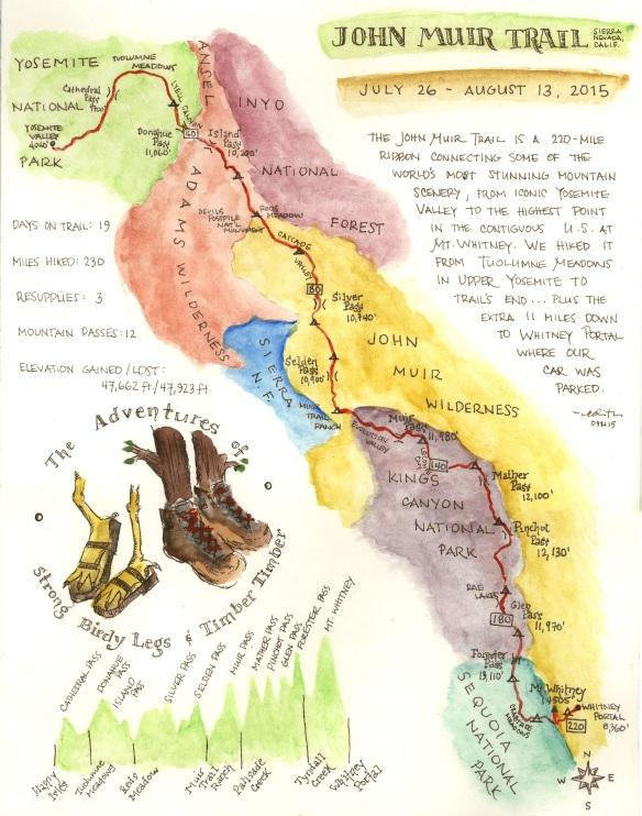 JMT map