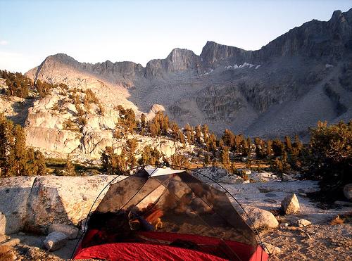 tent JMT