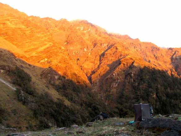 Alpenglow - Kuari Pass camp - day 4