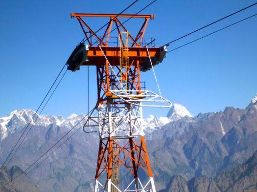 Auli ski lift - Kuari day 6
