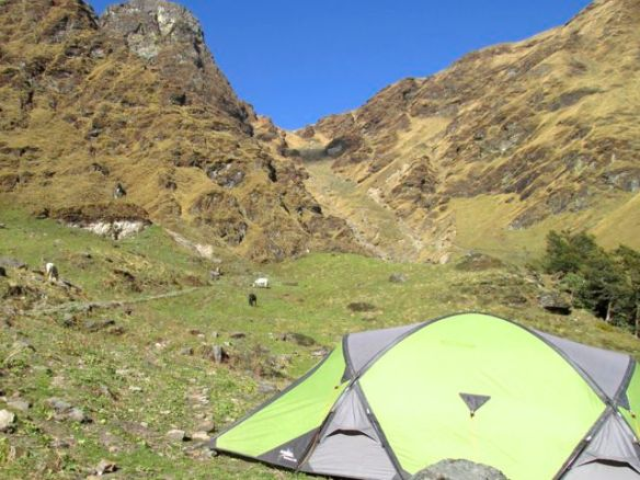 Kuari Pass camp - day 4