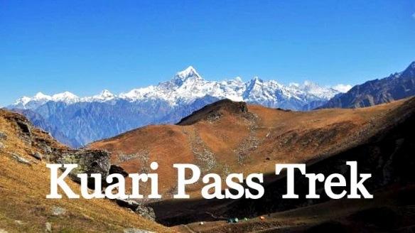 Dunagiri from Kuari Pass