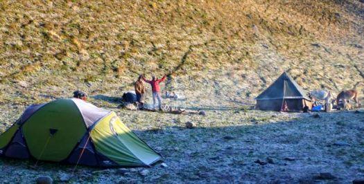 last morning Camp - Kuari day 6