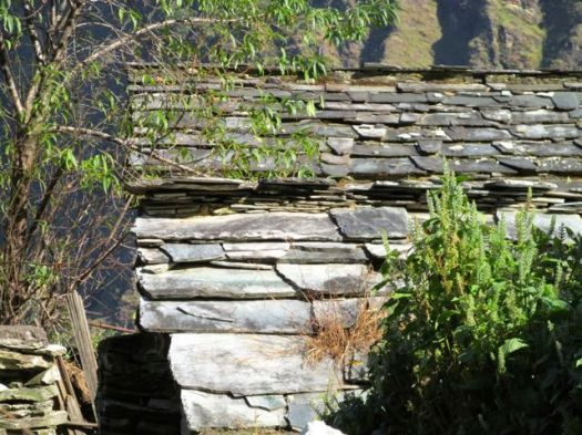 slate roof - Kuari day 3