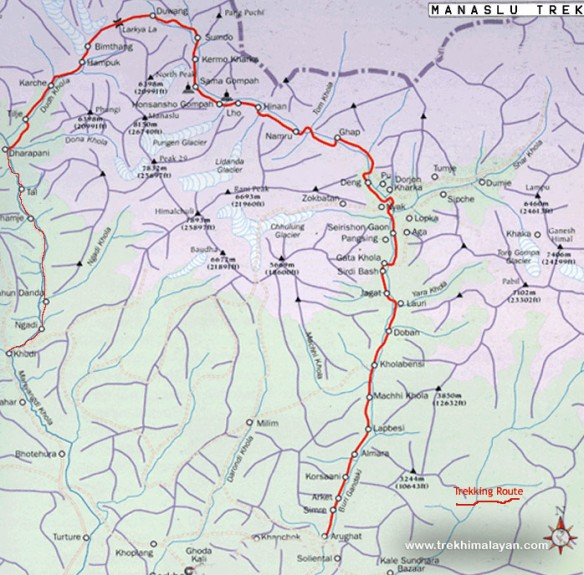 Manaslu-Circuit-Trek-II-location-map