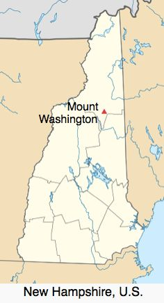Mt Washington map