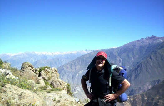 Carrying much of that stuff in the Colca Canyon, Peru