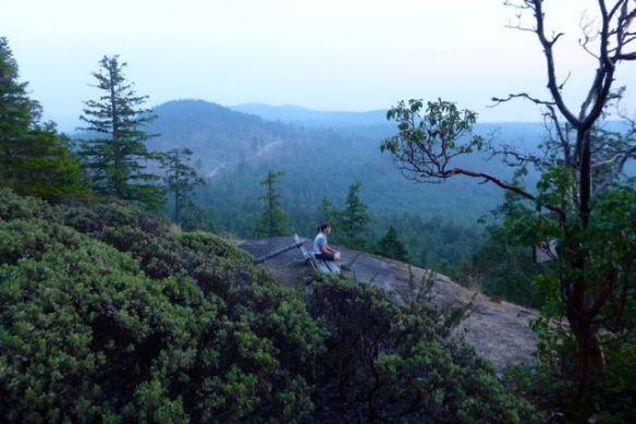 vista from Manzanita Hut