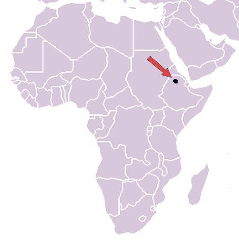 Simien Ethiopia Map