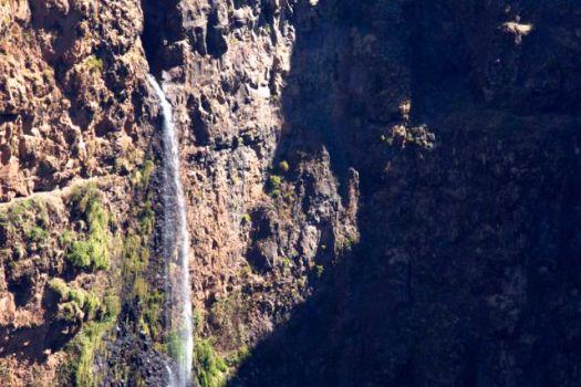 waterfall Simien - Josh and Nadine