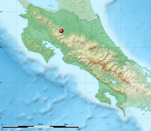 Arenal map