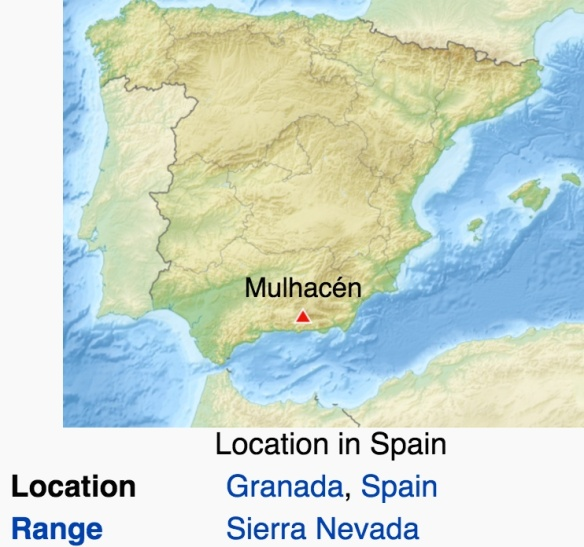 Mulhacen map