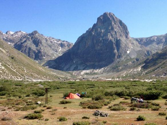 El Bolsón campground