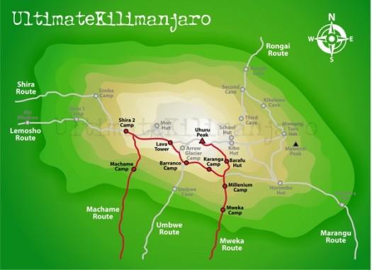 Kili map