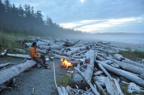North Coast campfire