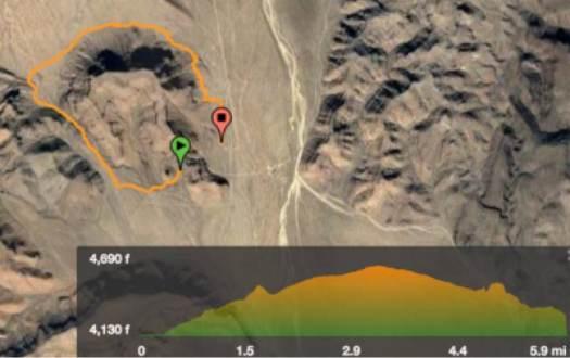 barber-peak-loop-trail-ca-map