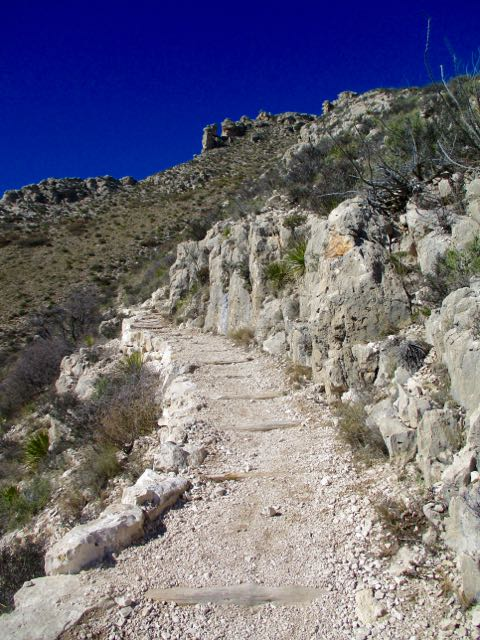 Bowl Loop, Guadalupe Mountains TX