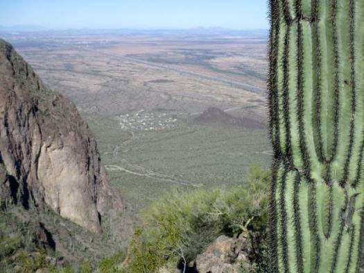 Hunter Trail to Picacho Peak