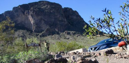 Hunter Trail to Picacho Peak