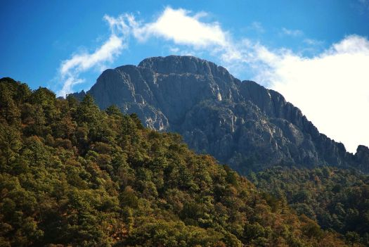 Mount Wrightson from Madera Canyon.