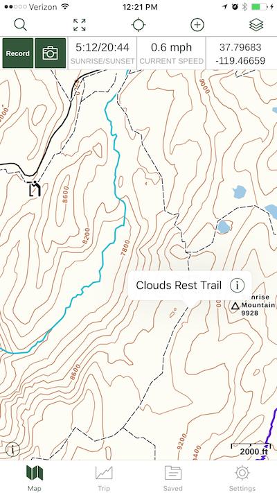 OK … I've downloaded Gaia GPS | besthike com