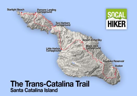 Trans-Catalina Trail, California 5
