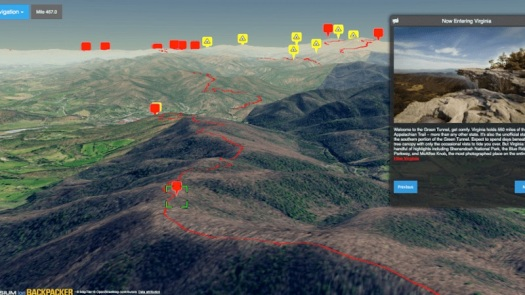Explore the Appalachian Trail in 3D 1