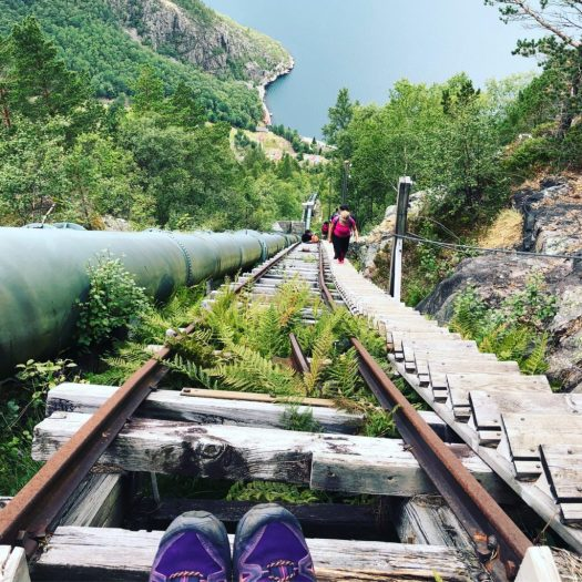 Flørli stairs – 4444 steps 1