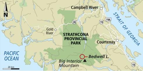 Cream Lake trail, Strathcona Park B.C. 2