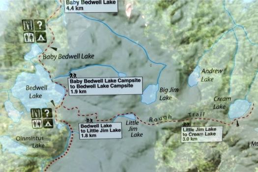 Cream Lake trail, Strathcona Park B.C. 8