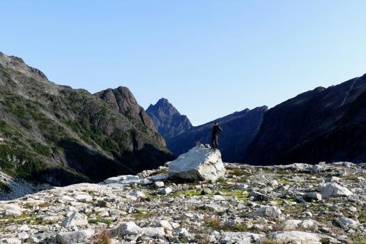 hiking Elk Pass, Strathcona Park B.C. 46