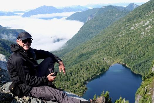 hiking Elk Pass, Strathcona Park B.C. 50